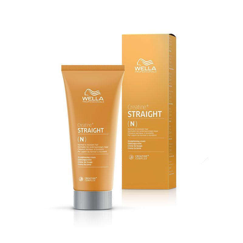 Wella Défrisant Straight (N) - Cheveux normaux à résistants 200ML, Produit défrisage