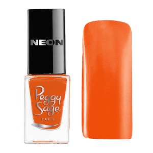 Peggy Sage Mini vernis à ongles Perfect Lasting Néon Maya 5ML, Vernis à ongles couleur