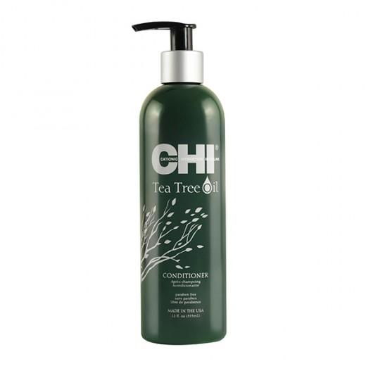 Chi Conditionneur rafraîchissant Tea Tree Oil 355ML, Après-shampoing avec rinçage