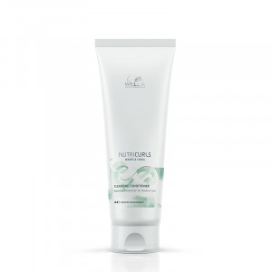 Wella Conditionneur lavant boucles - Cleansing conditioner Nutricurls 250ML, Après-shampoing avec rinçage