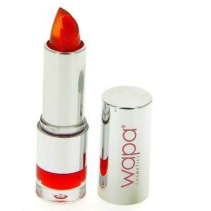 Wapa Rouge à lèvres Cristal Orangé rouge 009 4ML, Rouge à lèvres