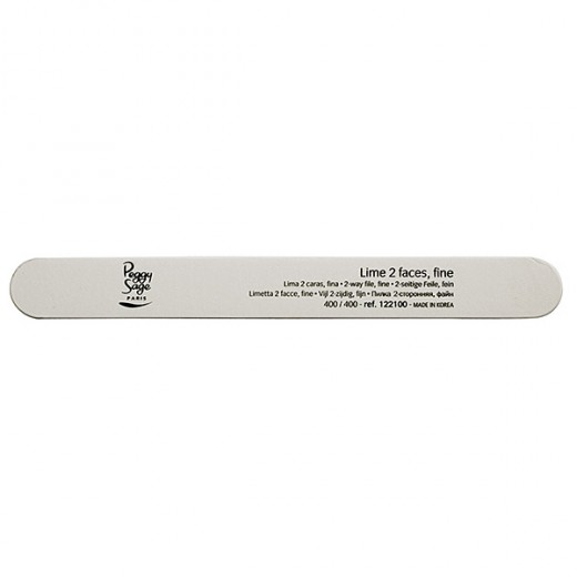 Peggy Sage Lime à ongles 2 faces  400400 Blanc, Lime à ongles