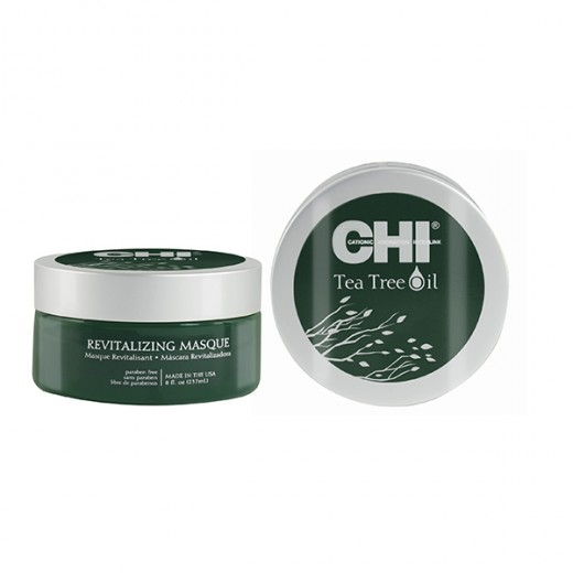 Chi Masque revitalisant Tea Tree Oil 237ML, Masque cheveux