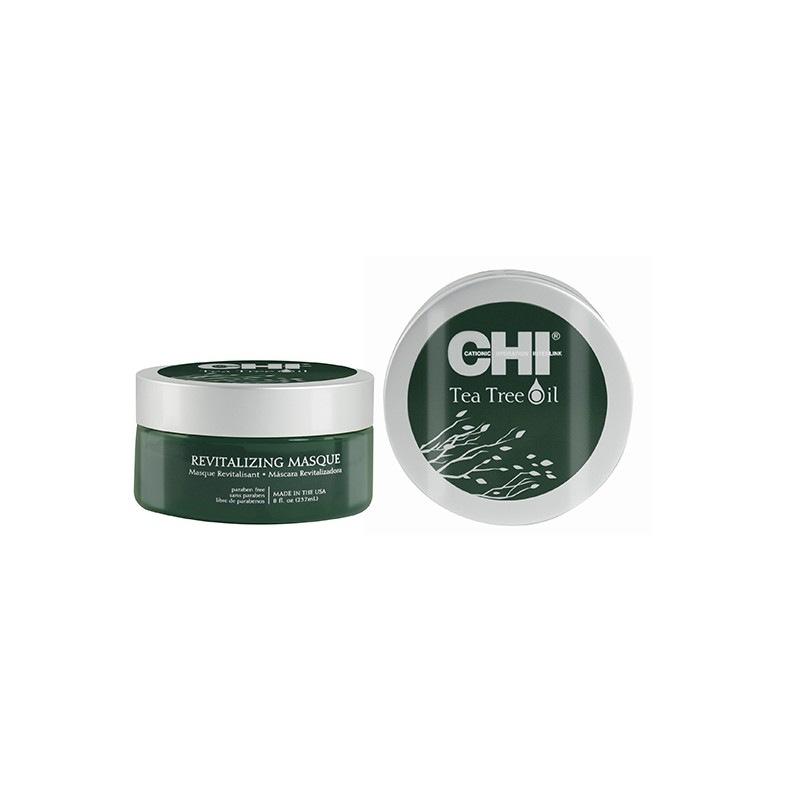 Chi Masque revitalisant Tea Tree Oil 237ML, Masque cheveux