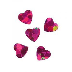 Peggy Sage Paillettes pour ongles violet hearts, Nail Art Strass