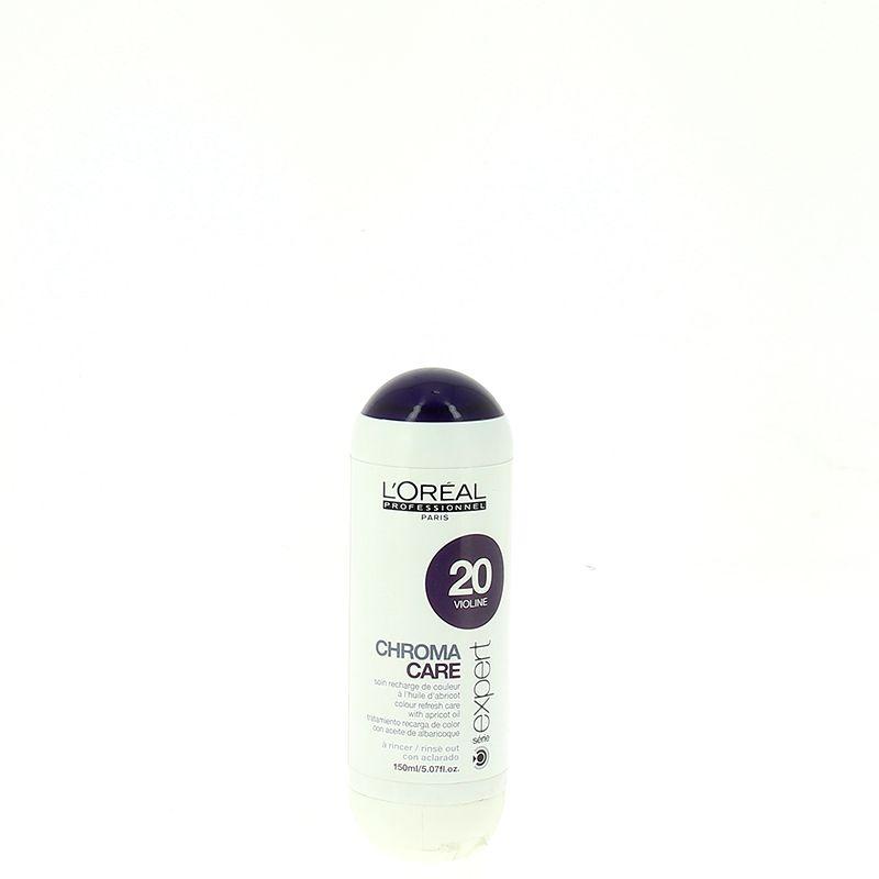 L'Oréal Professionnel Soin chroma care violine 20 150ML, Après-shampoing repigmentant