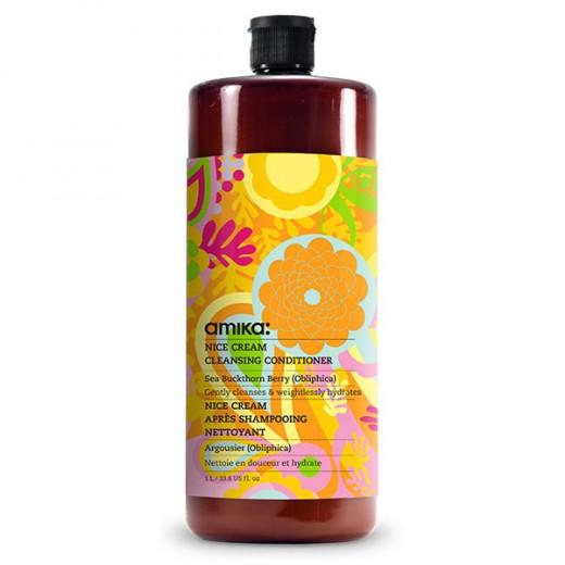Amika Après-shampooing Nice Cream 1000ML, Cosmétique