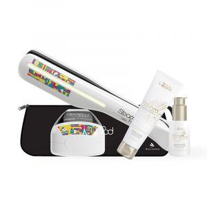 Pack Steampod Parisian Touch cheveux épais + pochette thermorésistante