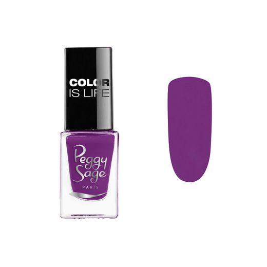 Mini vernis à ongles Color is life - Violette 5ml
