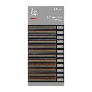 Peggy Sage Extensions de sourcils Dreamlash 0.10 x 4-5-6-7-8mm Taupe, Extensions de cils