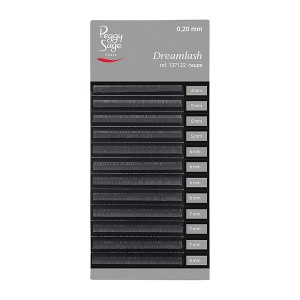 Peggy Sage Extensions de sourcils Dreamlash 0.10 x 4-5-6-7-8mm Brun, Extensions de cils