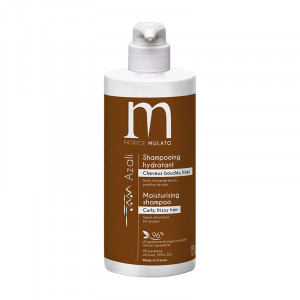 Mulato Shampooing hydratant Azali - Cheveux bouclés & frisés 500ml, Shampoing naturel