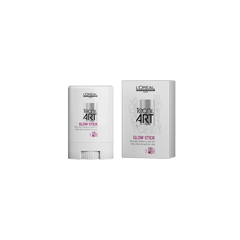 L'Oréal Professionnel Stick ultra-brillantce et anti-frizz Glow Stick Tecni.Art 400ML, Cire cheveux