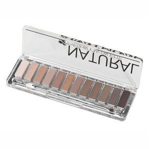 Ellepi Palette 12 ombres à paupières Natural Zingus, Palette maquillage