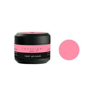 Peggy Sage Gel de couleur UV & LED Technigel Girly cupcake, Gel couleur
