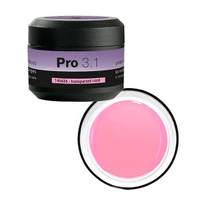 Gel de construction 3 en 1 Pro 3.1 Transparent 15g