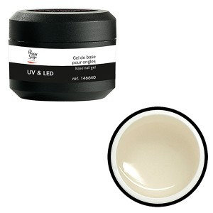 Peggy Sage Gel UV & LED de base pour ongles Transparent 15g, Primer et base coat