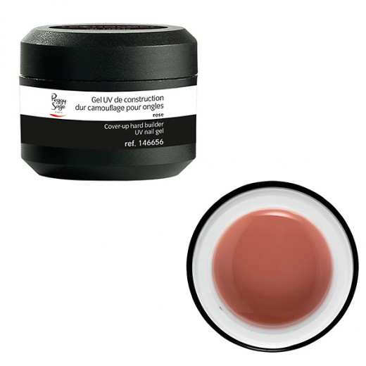 Peggy Sage Gel de construction dur Camouflage rose 15g, Gel construction