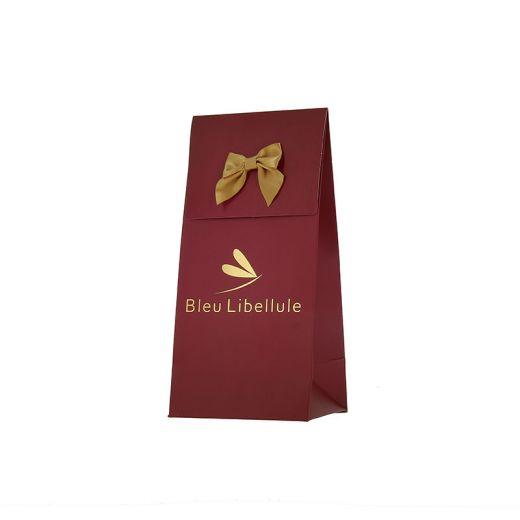 Pochette cadeau Noël 2019 Bleu Libellule - Christmas Show