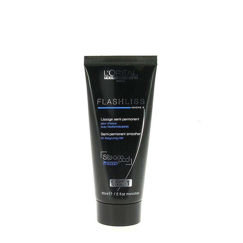 L'Oréal Professionnel Steampod gel actif FlashLiss 60ML, Crème cheveux sans rinçage