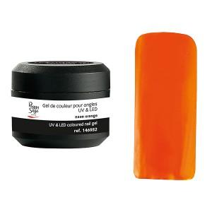 Peggy Sage Gel de couleur UV & LED Technigel Color It Neon orange, Gel couleur