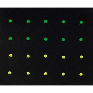 Décors adhesifs pour ongles Neon studs