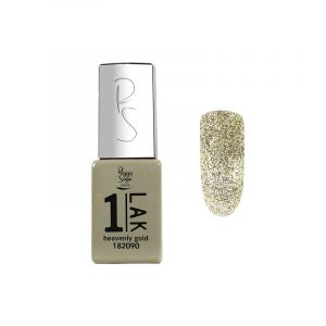 Mini vernis semi-permanent 1-LAK - Heavenly gold 5ml