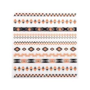 Peggy Sage Décors adhésifs pour ongles Ethnique, Sticker décoratif