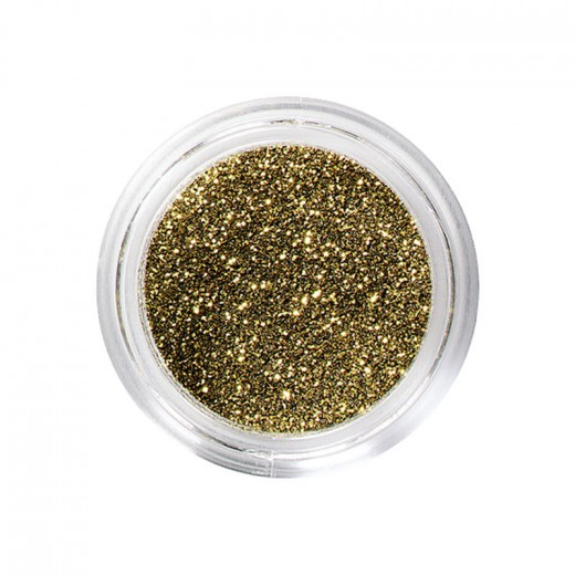 Peggy Sage Paillettes pour ongles et corps Or, Nail Art Strass