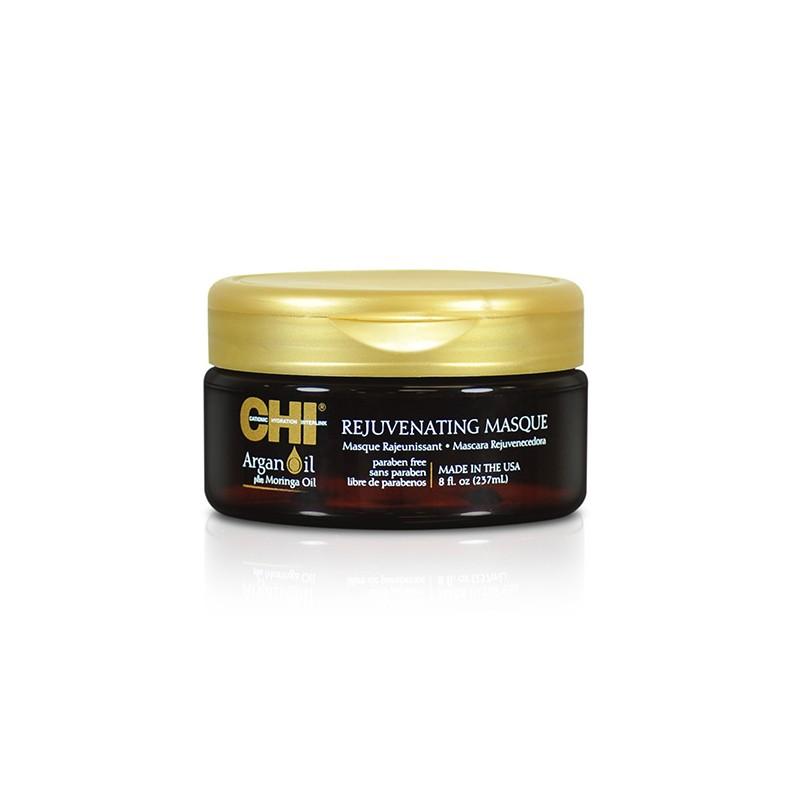 Chi Masque rajeunissant Argan Oil 237ML, Masque cheveux