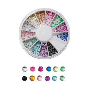 Peggy Sage Carrousel de 600 strass pour ongles jewels peggy sage, Nail Art Strass
