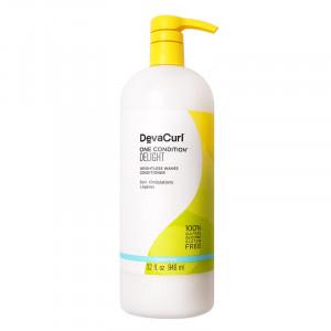 DevaCurl One Condition® Delight Conditionneur ondulations légères 946ML, Après-shampoing avec rinçage