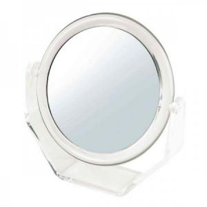 Sibel Miroir double face avec socle grossissant 5x, Miroir