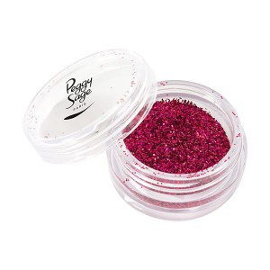 Peggy Sage Paillettes pour ongles 1g Tacky fuschia, Nail Art Strass