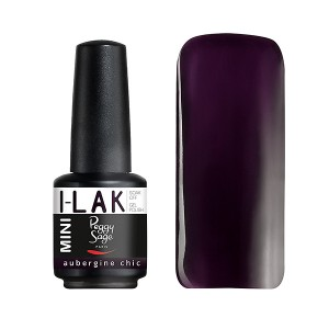Peggy Sage Vernis semi-permanent I-Lak mini Aubergine chic 9ML, Vernis semi-permanent couleur