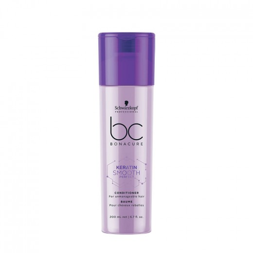 Schwarzkopf Baume cheveux rebelles Keratin Smooth Perfect 200ML, Après-shampoing avec rinçage