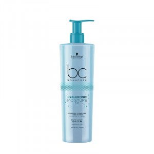 Schwarzkopf Baume lavant micellaire cheveux secs Hyaluronic Moisture Kick 500ML, Après-shampoing avec rinçage