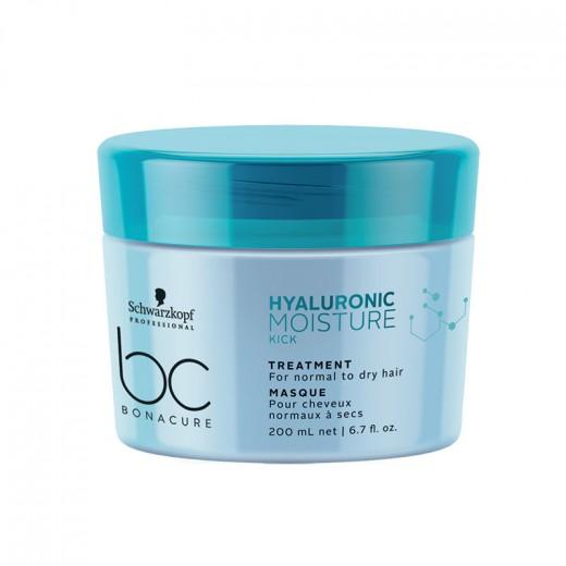 Schwarzkopf Masque cheveux secs Hyaluronic Moisture Kick 200ML, Masque cheveux