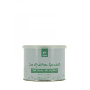 Pot de cire dépilatoire liposoluble Aloe Vera 400ml
