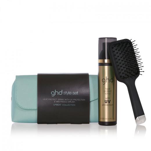 GHD Trousse de coiffage ghd Upbeat collection, Brosse démêlante