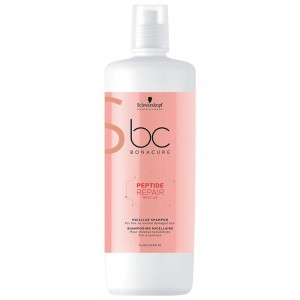 Schwarzkopf Shampooing micellaire peptide Repair Rescue 1000ML, Cosmétique