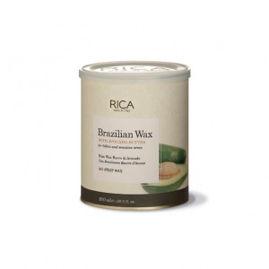 Rica Cire d'épilation Avocat 800ML, Pot de cire