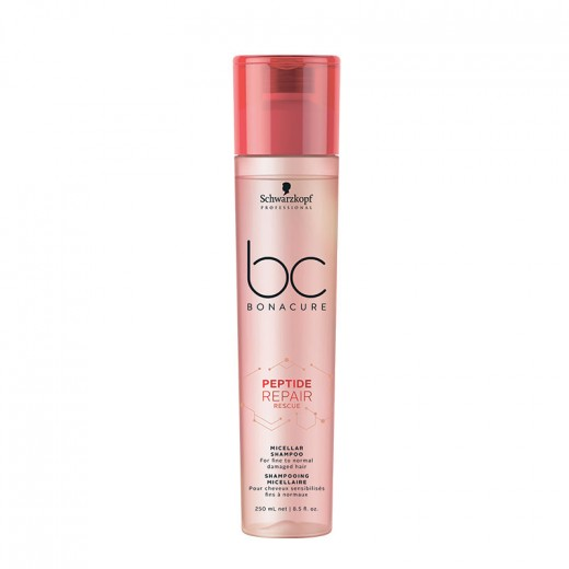 Schwarzkopf Shampooing micellaire Peptide Repair Rescue 250ML, Cosmétique