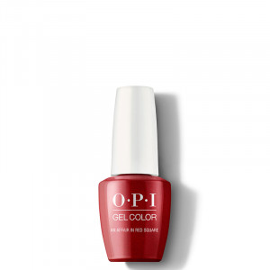 OPI Vernis semi-permanent GelColor An Affair in Red Square, Vernis semi-permanent couleur