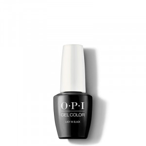 OPI Vernis semi-permanent GelColor Lady in Black, Vernis semi-permanent couleur