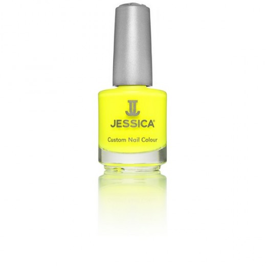Jessica Vernis à ongles Yellow flame 14ML, Vernis à ongles couleur