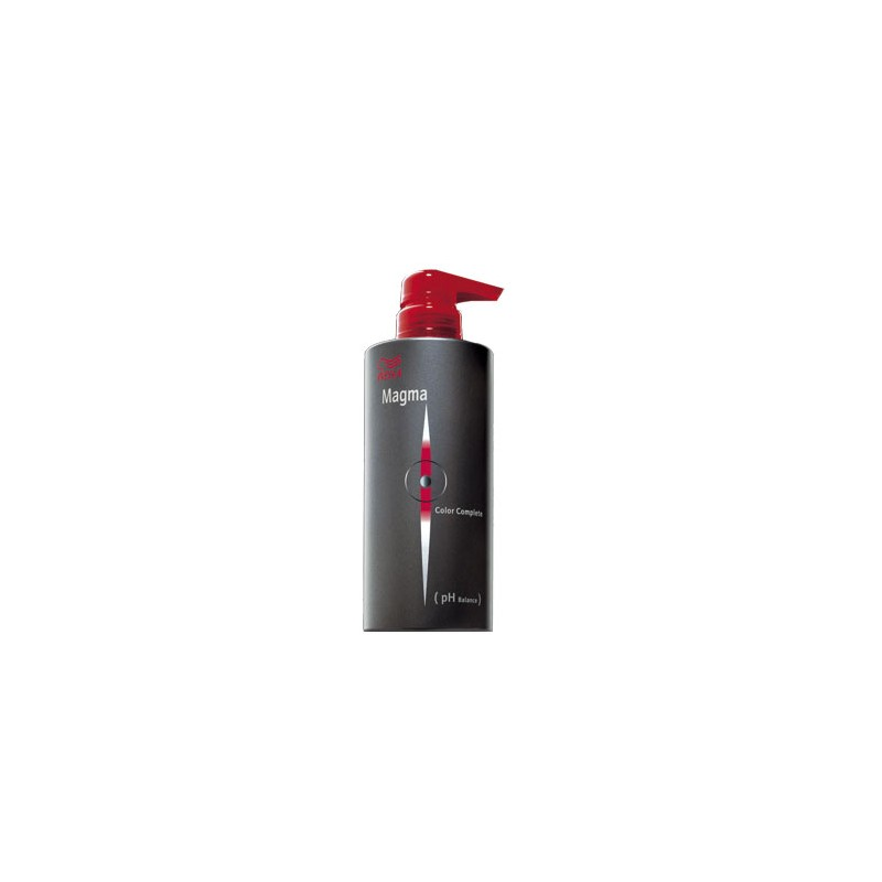 Wella Soin post-coloration Magma, Shampoing technique