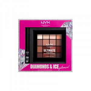 NYX Professional Makeup Coffret palette OAP Warm Neutrals & eyeliner Matte Liquid Liner, Palette maquillage