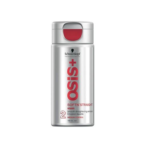 Schwarzkopf Emulsion lissante Softn'straight Osis+ 150ML, Crème cheveux