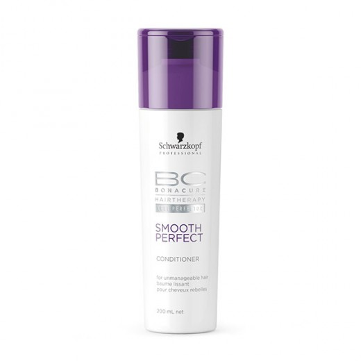 Après-shampooing smooth perfect bonacure schwarzkopf 200ml